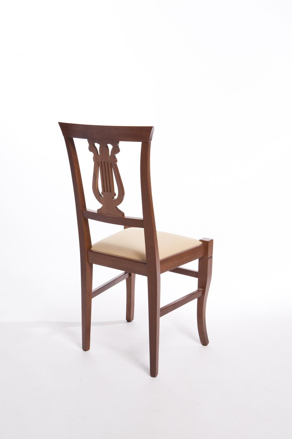 Sedia lira alta sedie f lli lusardi di ferdinando snc for Sedia alta